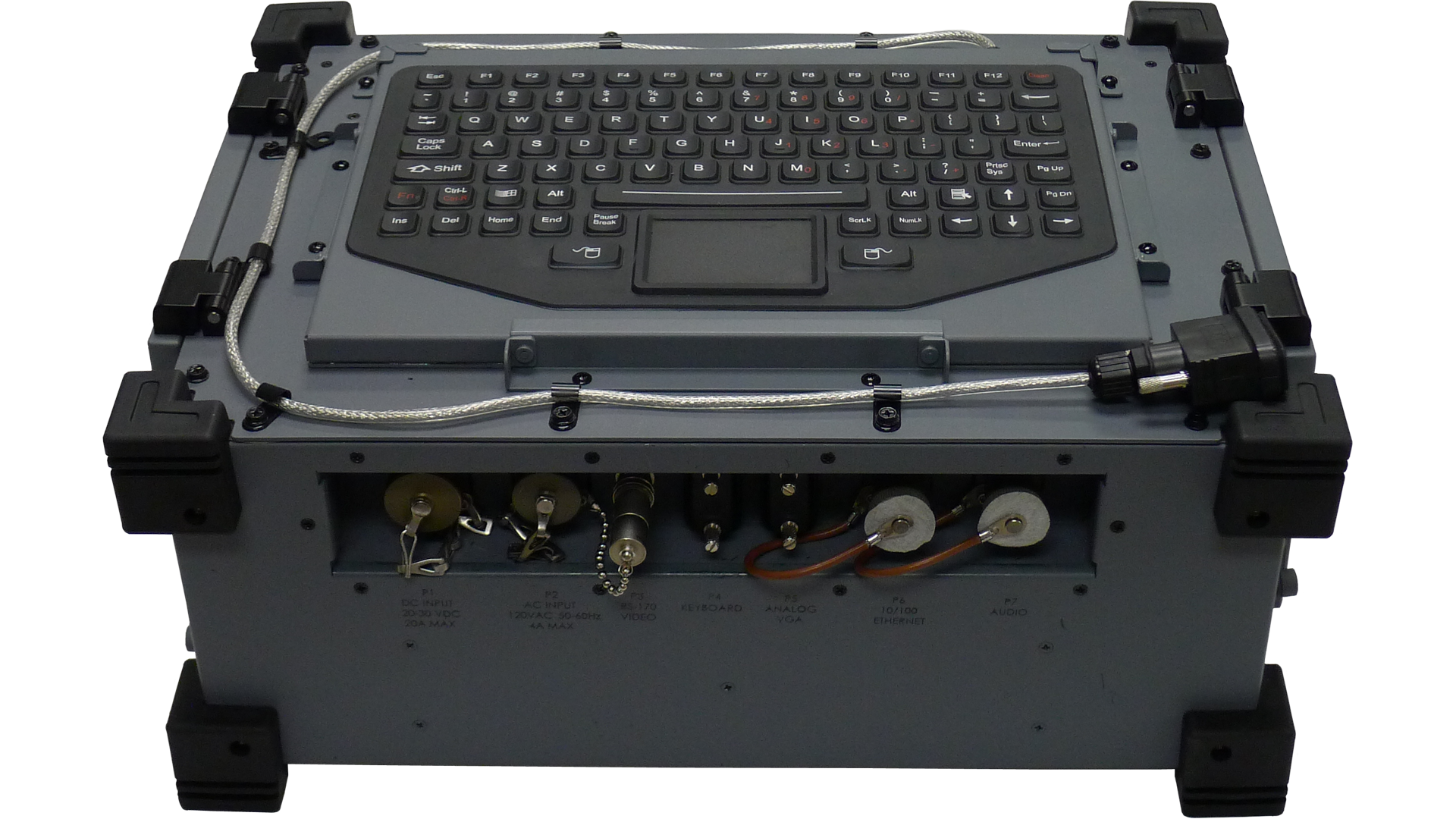 MilPAC portable high power military computer